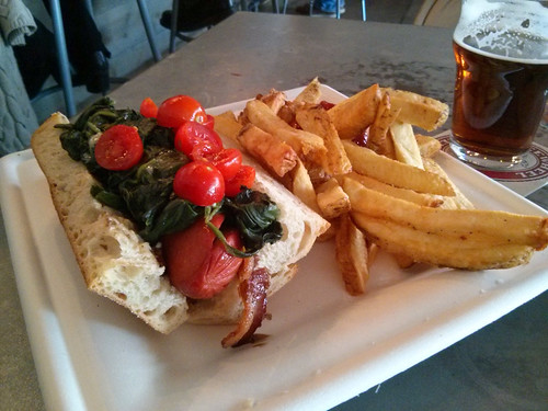Hot Dog, Freewheel Brewing Co., Redwood City, CA by schahn