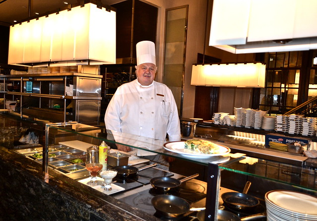 The Breakers Hotel, Palm Beach, Florida - The Circle Room - omelet chef