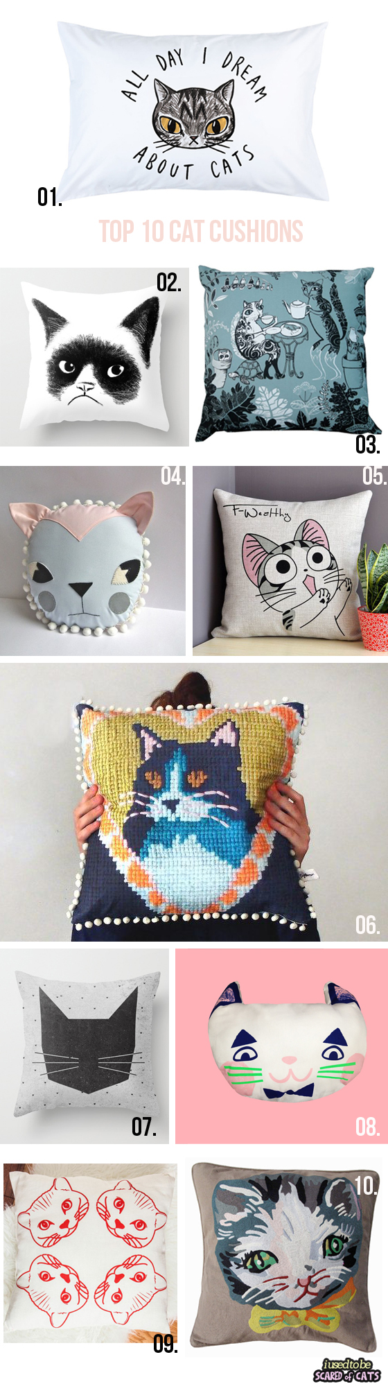 top 10 cat cushions
