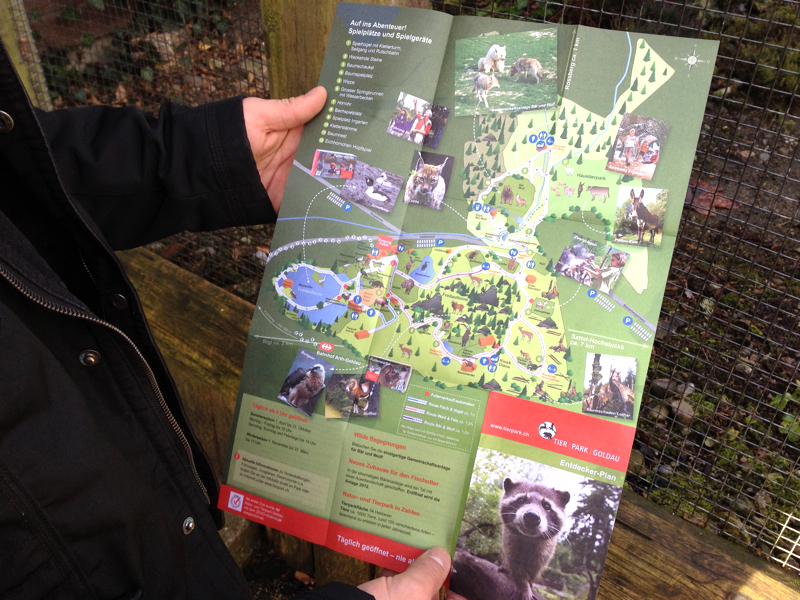 Tierpark in Goldau