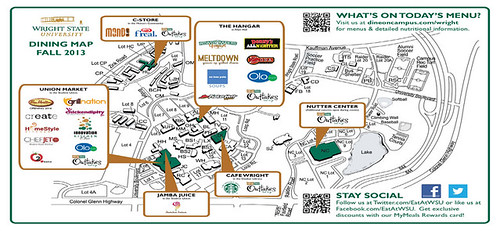 WSU Fall 2013 Map