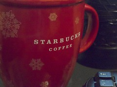 Starbucks coffe at 6400 ISO