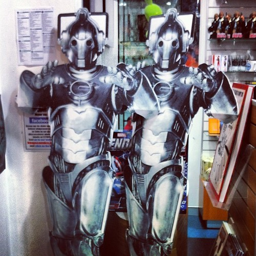 Beware! Techno zombies in Kings Comics ! AKA cybermen