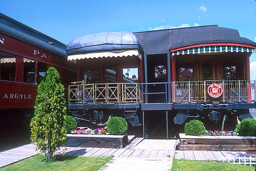 Canadian Rail Museum, Cranbrook, Columbia Valley, Kootenay Rockies, British Columbia, Canada