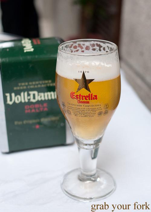 Estrella Galicia in A Coruna, Galicia, Spain