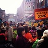 Chinese New Year Parading. @cccnc #philadelphia #chinatown #yearofthehorse