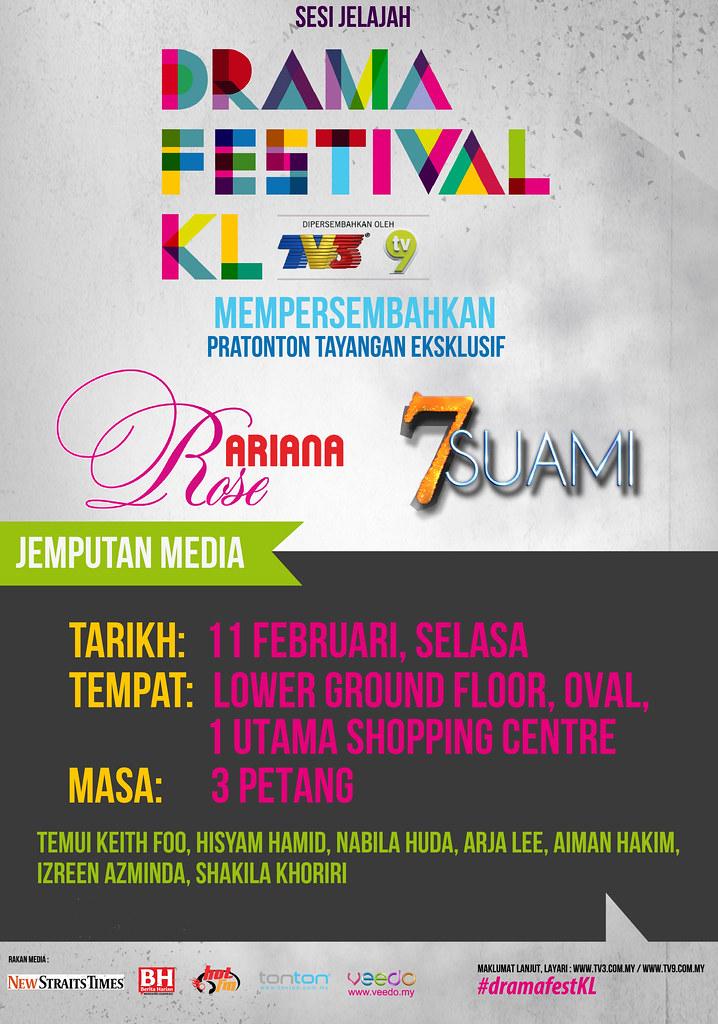 Episod Akhir Drama Ariana Rose di Jelajah Drama Festival Kuala Lumpur