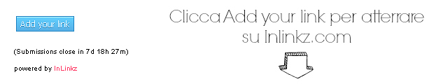 1 clicca su add your link
