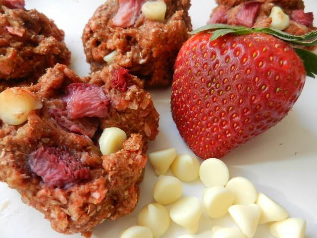 Galette Méli-mélove à la fraise fraîche et chocolat blanc