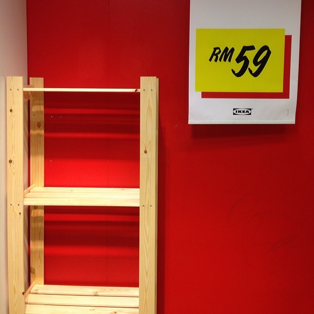 Looking at some racks. Need more storage space for the house. #ikea #racks #furniture #interiordesign