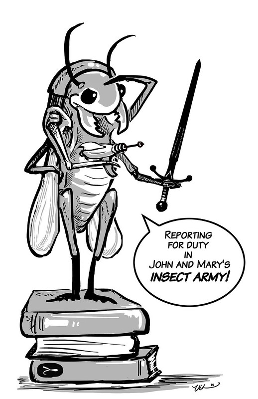 Join the Insect Army! – Whatever
