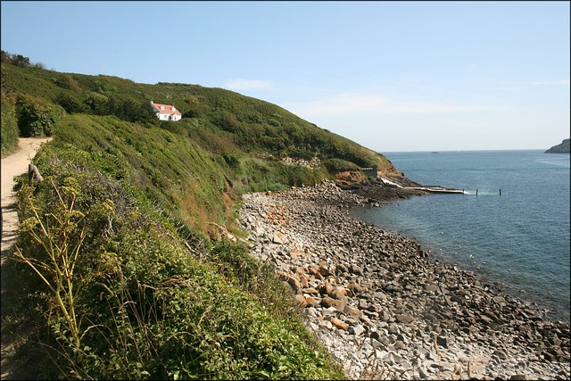 View to Rosaire Steps