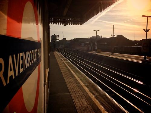 <p>Eastbound platform</p>
