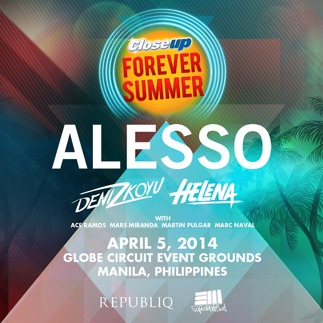 12816518544 66bf9a73d4 z Alesso For Closeup Forever Summer + Complete Lineup