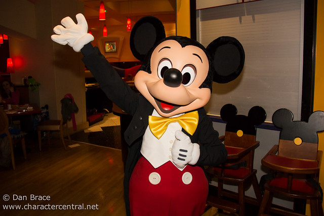 Dinner at Cafe Mickey