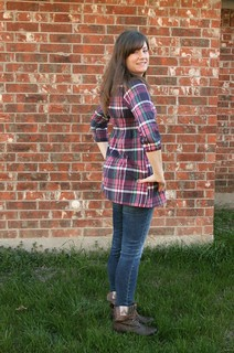plaid Washi tunic