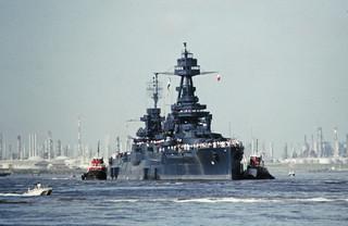 BB-35 Returns to San Jacinto, July 26, 1990 i