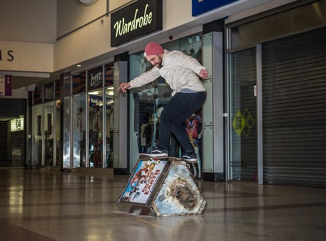 Dominic Kolodziej - FS Boardslide - Slough - YEUK Promo Shots