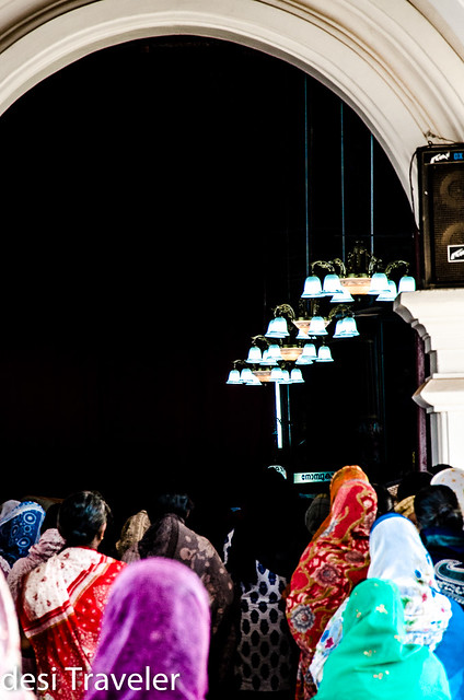 Women praying in Champakulam Church in Kerla