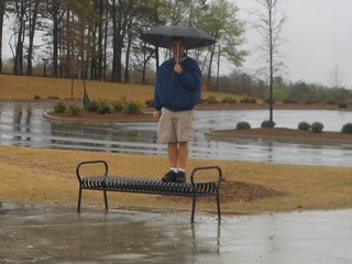 Bench Monday: April Showers Edition