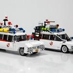 LEGO Ghostbusters Comparison