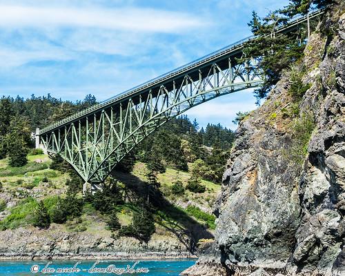 bridge landscape deceptionpass