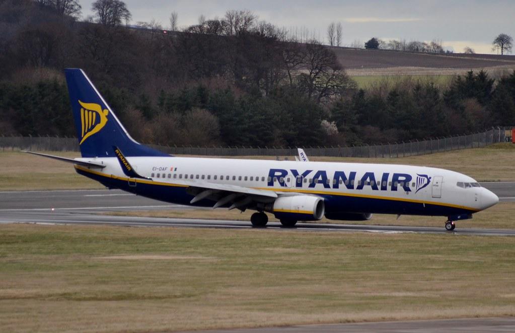 EI-DAF - B738 - Ryanair