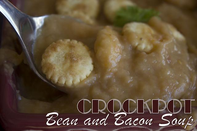 Crockpot Bean and Bacon Soup