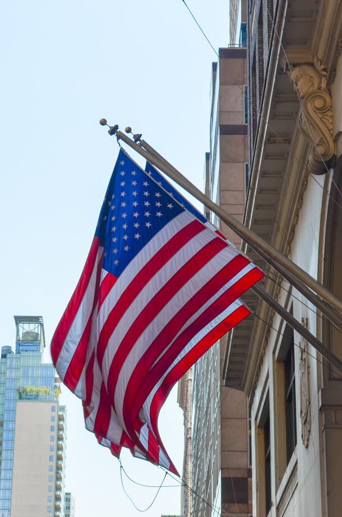 Drapeau américain New York
