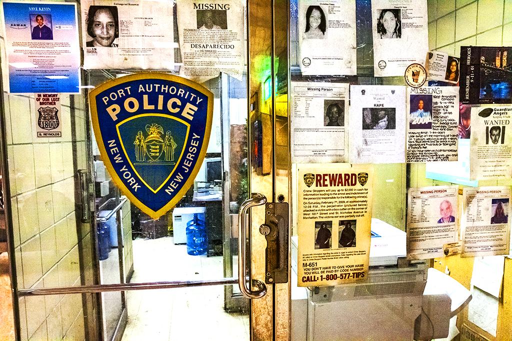 Police-office-at-George-Washington-Bridge-Bus-Station--Washington-Heights