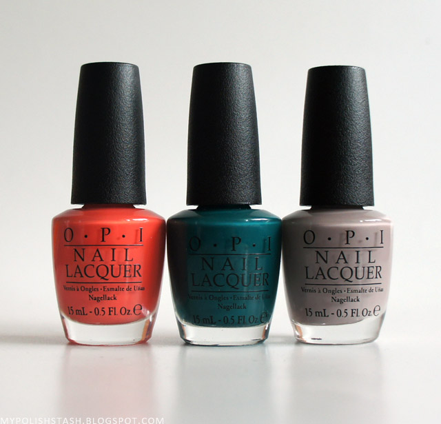 New In My Stash Vol 7_OPI Brazil polishes