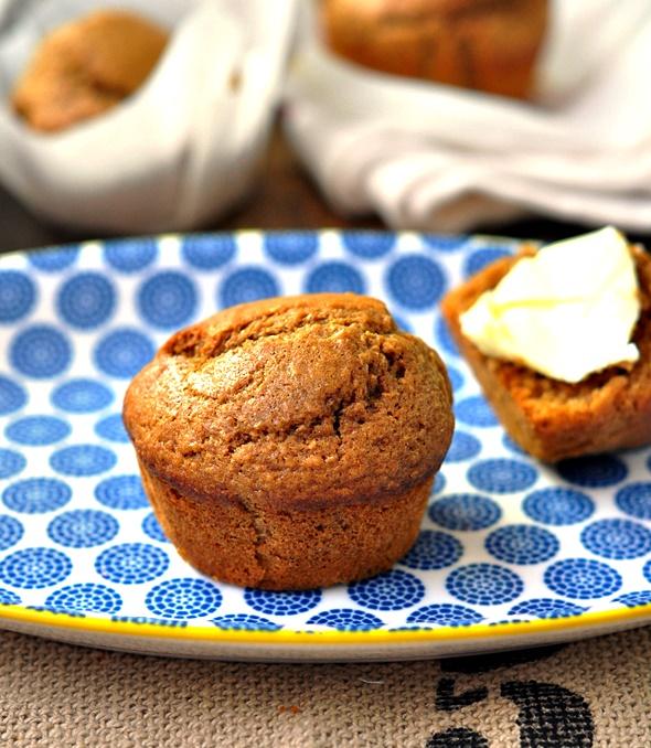Cinnamon & Coffee Wholemeal Muffins
