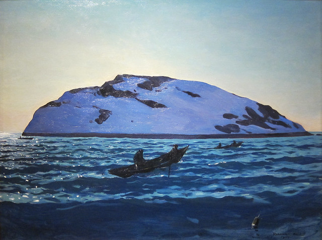 Rockwell Kent, Afternoon on the Sea, Monhegan, 1907 from Flickr via Wylio
