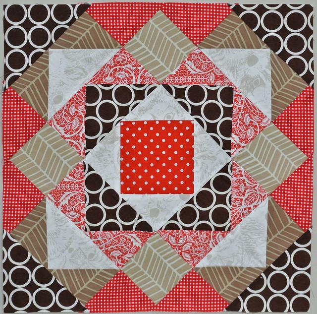 Pyramids (Cora's Quilts Spring Sampler)
