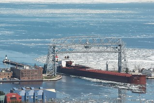 Duluth Trip - May 2014 - MV Paul R. Tregurtha arrives in Duluth