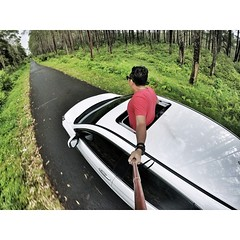 The Destination...  #PhotoGrid ##statigram #instago #insta_global #igersoftheday #gopro #goprohd #goproid #indonesia #traveling #tangkubanperahu #car #cars #suv #hondcrv #hondaindonesia #crv