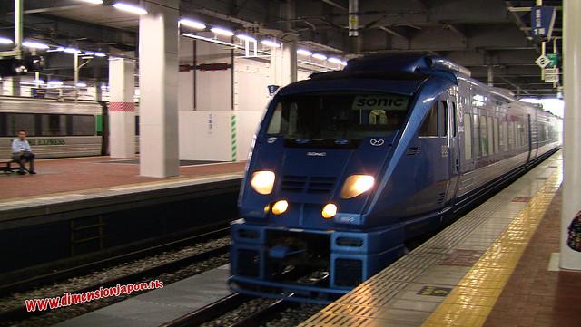 IMG_0496 Limited express Sonic (Fukuoka-Beppu) 13-07-2010