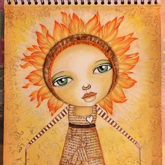 Life Book 2015, 1st workshop: Torch or Fire Spirit (Beacon of Light)
