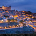 Spain - Toledo - Imperial City at Dusk - Twilight - Blue Hour - Night by © Lucie Debelkova / www.luciedebelkova.com