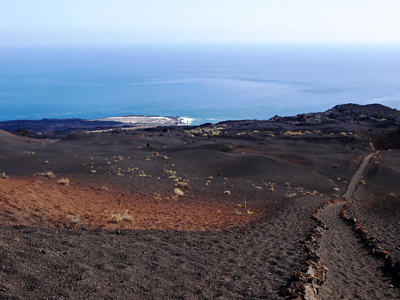Volcanic path, Fuencaliente, La Palma