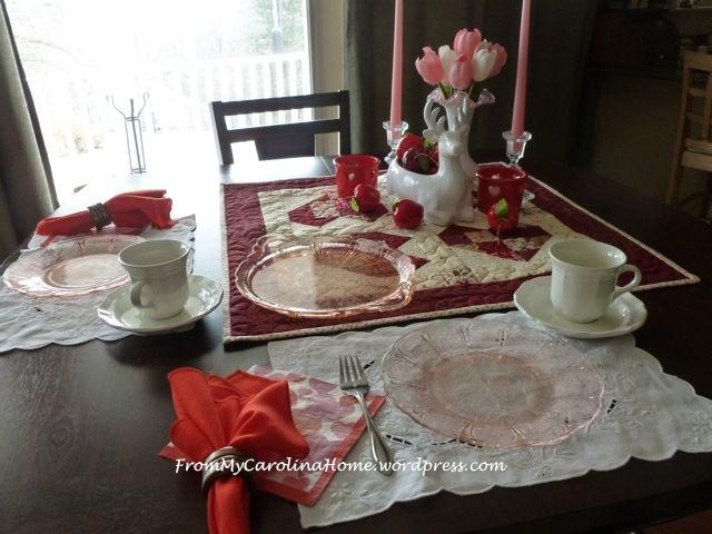 Valentine Tablescape 13