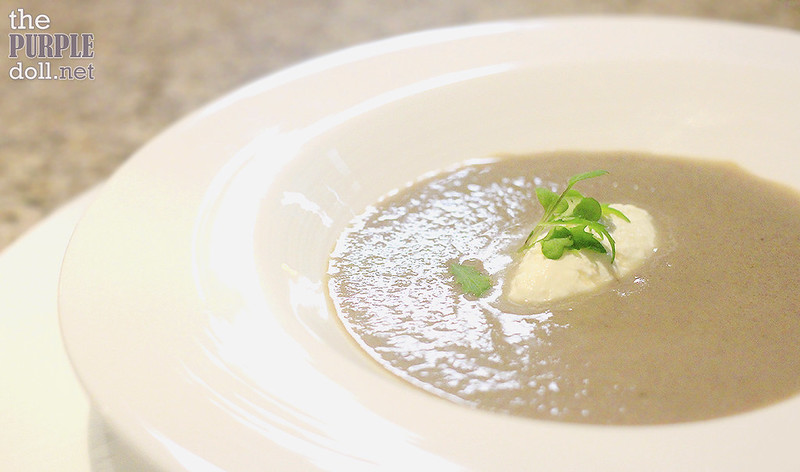 Cream of Mushroom Soup from The Terrace