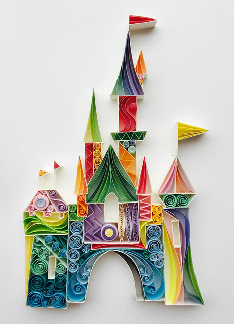 Quilled Castle by Sena Runa