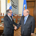 Secretary General Receives Foreign Minister of Uruguay