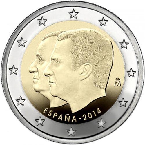 2 Euro Španielsko 2014, Filip VI.