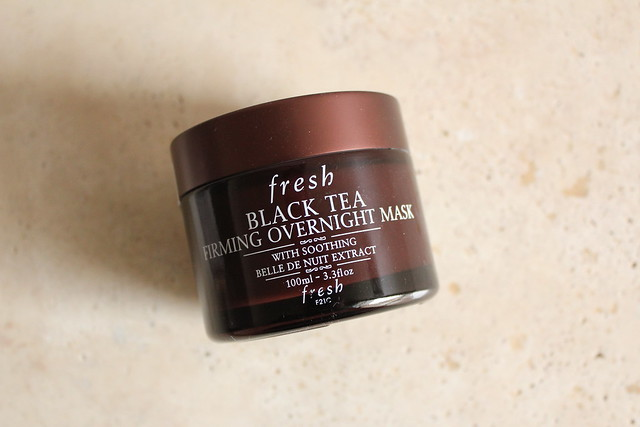 FRESH Black Tea Firming Overnight Mask review
