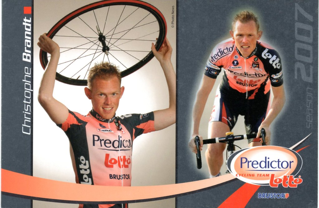 Predictor-Lotto 2007 / BRANDT Christophe