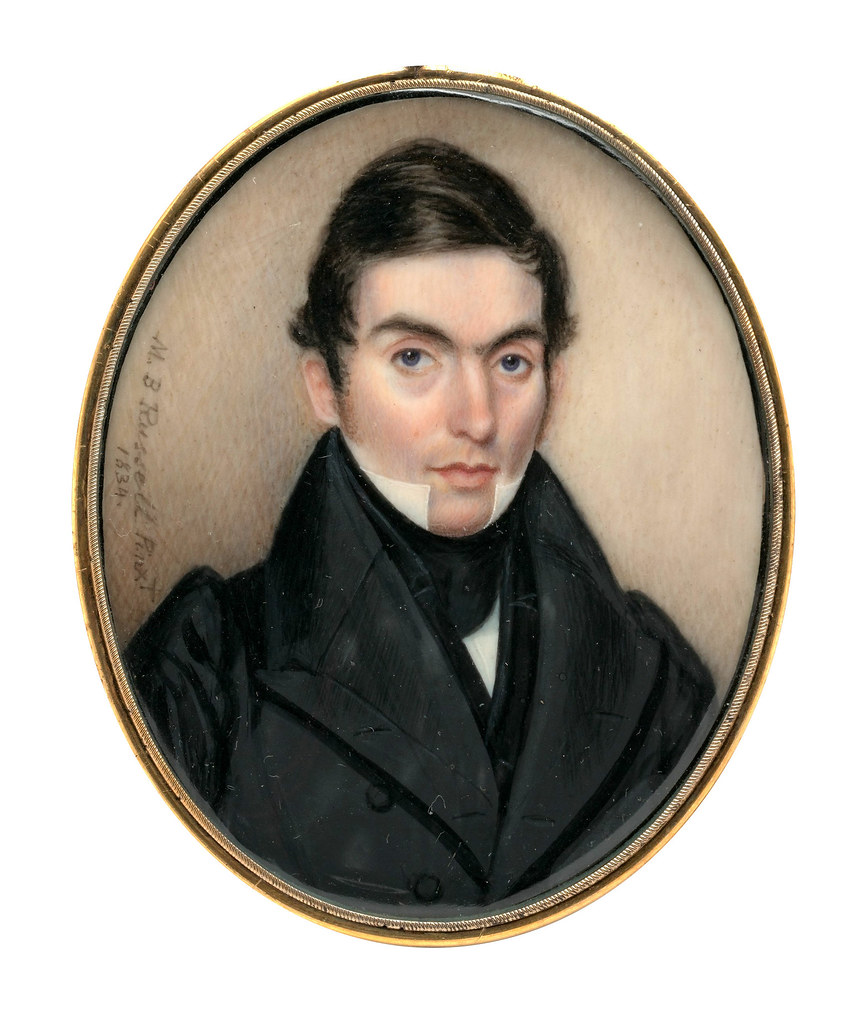 Portrait of a Gentleman by Moses B. Russell, 1834