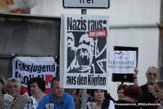 2016.06.03 Gloewen Prignitz Proteste gegen Neonazikundgebung (1)