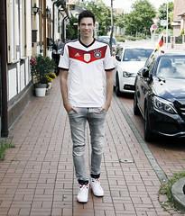 German National soccer Fan Die Mannschaft